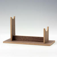 Walnut Display Stand for Piranha Prop Replica Model - 下呂温泉 留之助商店 入荷新着情報