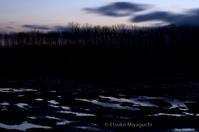 宮島沼周辺で - ekkoの --- four seasons --- 北海道