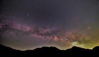 今季初撮りの天の川 - 安倍奥の星空