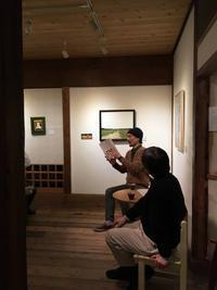 『新潟、絵屋さんでの個展:その2』 - NabeQuest(nabe探求)