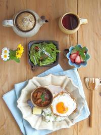 ハヤシで朝ごはん - 陶器通販・益子焼 雑貨手作り陶器のサイトショップ 木のねのブログ