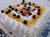 4月のお誕生ケーキ - 介護老人保健施設 大津ケアセンター ブログ