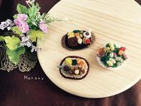 食いしんぼうのシェフサラダ - ミトン☆愛犬 編みぐるみ Maronyのアトリエ