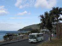 大浜海浜公園前 - リンデンバス ~バス停とその先に~