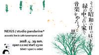 NEIGS / studio pandarine*アコースティックライブ2018 - たねまめ