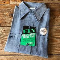 Dead Stock S/S Chambray Shirt - TideMark(タイドマーク) Vintage&ImportClothing