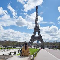 {Instagram}Paris旅行 4月のパリは上天気! - IkukoDays