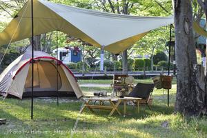 春キャンプ - honey+Cafe