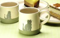 癒しのねこのマグカップ - ブルーベルの森-ブログ-英国のハンドメイド陶器と雑貨の通販