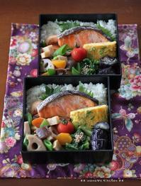 月曜鮭弁 ✿ ガーラ(๑¯﹃¯๑)♪ - **  mana's Kitchen **