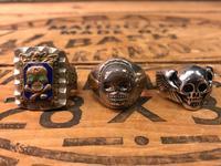 4月25日(水)大阪店アクセサリー&ヴィンテージ入荷!!#4 Skull&FreeMason編!MexicanRing!! - magnets vintage clothing コダワリがある大人の為に。