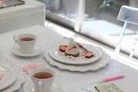 桜満開 *4/23レッスンれぽ - お菓子教室*Blue Kitchen*便り ~ a pleasant blue kitchen ~