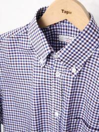 Solandrino チェックB.Dシャツ - 【Tapir Diary】神戸のセレクトショップ『タピア』のブログです