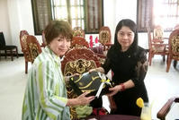 カンボジアでの嬉しい再会 - ー思いやりをカタチにー 株式会社羽島企画の社長ブログ