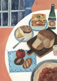 今日の絵「イタリアの夜」 - vogelhaus note