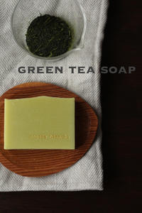 緑茶の石けん - aroma lien  *アロマと手づくり石けん教室*