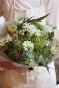 本日ゆい子さんの「四月の花屋」 - なづな雑記