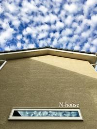 N-house 工事進んでいます - しあわせのつぶ -  drops of wonder -