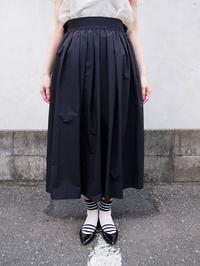 ORIVERSAT ラッフルギャザースカート - suifu