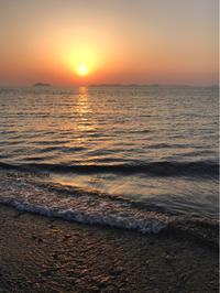 夕焼け小焼け - on the shore