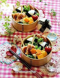 おむすび弁当とすずらんとわんこ♪ - ☆Happy time☆