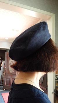 1年ぶりの帽子教室 - がちゃぴん秀子の日記