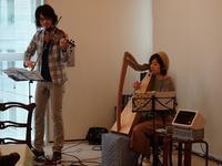 アイルランド大使館にて - Harp by KIKI