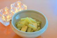 蕗とお揚げの煮浸し/春雨サラダ - まほろば食日記