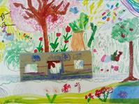 4/22 子供アート教室 ~電車に乗って♡~ - miwa-watercolor-garden