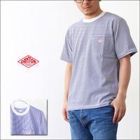 DANTON [ダントン] 空紡天竺 POCKET BORDER T [JD-9041] ポケットTシャツ・コットンTシャツ・メンズ・男性用・紳士・MEN'S - refalt   ...   kamp temps