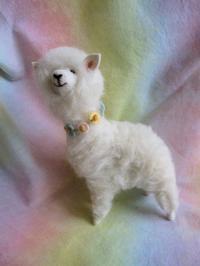 羊毛フェルトアルパカさん - こひつじ的生活~羊毛フェルトで作る小さな世界
