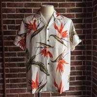 """BIRD OF PARADISE"" S/S HAWAIIAN SHIRT - ISSEI's BLOG"