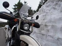 雪の回廊を求めて - 風と陽射しの中で ~今日はバイクで何処に行こう!?~