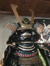 端午の節句「立派な甲冑かざり・・・代々受け継がれて行くモノ!」編 - 納屋Cafe 岡山
