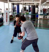 ボクシングジムにいらしてみて下さい - 本多ボクシングジムのSEXYジャーマネ日記
