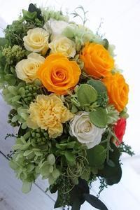 ご結婚祝いのアレンジ - maano diary マーノ日々のこと