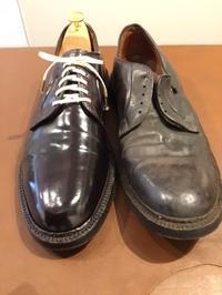 【Alden】オールデンのコードヴァン、Before・Afterをご覧ください - Shoe Care & Shoe Order FANS.浅草本店「M.Mowbray Shop」