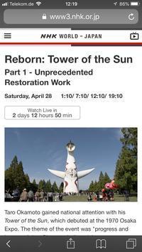 『蘇る太陽の塔』世界に向けて - 許可ニ胡塾