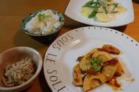筍ご飯と筍イタリアン風 - 二つの台所