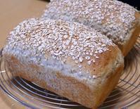 オートミールブレッド案外ハマる - ~あこパン日記~さあパンを焼きましょう