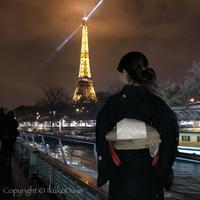 Paris旅行 エッフェル塔と着物:『バトー・ムッシュ(BATEAUX MOUCHES)』プレステージディナー - IkukoDays