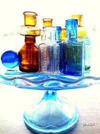 ガラス瓶 - 貝がらはうす