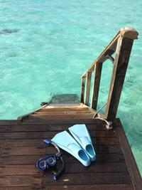 モルディブとシンガポール5 コンラッド水上ヴィラ - 関空から旅と食と酒紀行