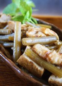 ■季節料理【蕗の甘辛炒め煮】地味美味しい飽きない一品ですね^^ - 「料理と趣味の部屋」