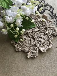 母の手仕事 ~ バラのドイリー ~ - 妖精と過ごす花のある暮らし