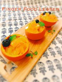 オレンジカップのデザート - Cynthia Diary   Quiche &Finger Food