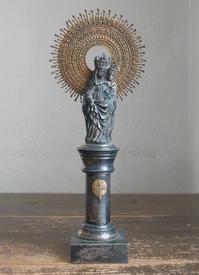 幼子イエスを抱くピラールの聖母 高27cm  / F245 - Glicinia 古道具店