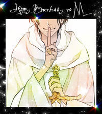 "HAPPY BIRTHDAY to ""M"" - 山田南平Blog"