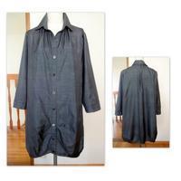 大島紬で・・・又、バルーンコート - ソーイングときどき着物・・・ Have a nice day 良い一日を