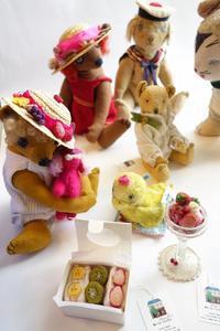 Dear Bear 目黒店でピクニック♪ - 動物・テディべア 時々 パリの街角動物